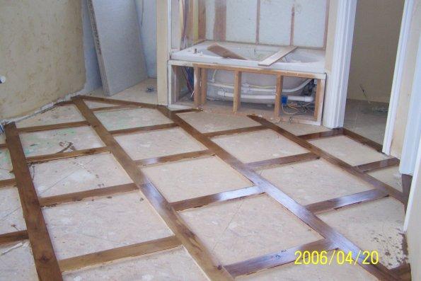 Acrylic Floor Inlays : Wood flooring with tile inlays joy studio design gallery